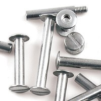 "Aluminum Screw Posts  2 1/2"" Length"