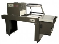 Excel PP-1519ECM L-Sealer & Shrink Tunnel Combo Machine with Magnet Hold Down