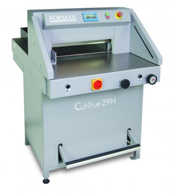Formax Cut-True 29H Hydraulic Guillotine Cutter - Formax Cutters Cut-True 29H - Formax Stack Cutters