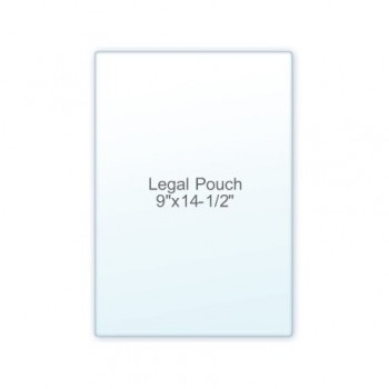 "Legal Size Pouch  9"" x 14 1/2"" 10 Mil (7/3)"