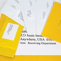 Mailing Labels 30-Up, 20-Up, or 10-Up - 100 Sheets/Box