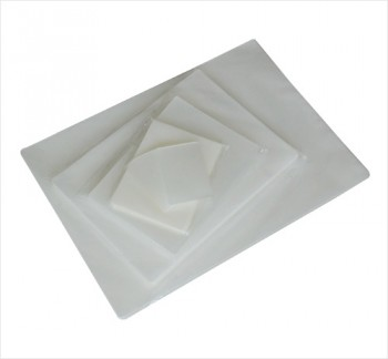 "Menu 11 1/2"" x 17 1/2"" 5 Mil Clear Pouch 100 Pack"