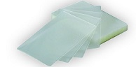 "Menu 12 1/2"" x 18 1/2""  3 Mil X-Large Clear Pouch 100 Pack"