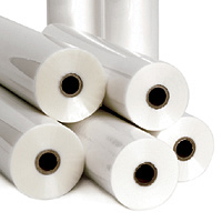 "School Grade Roll Laminating Film - 25"" x 500' Clear 1"" Core"