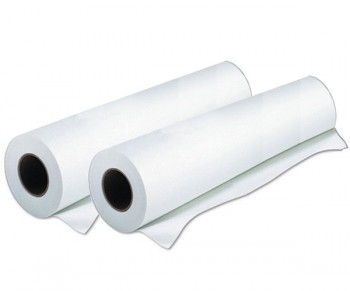 "Roll Laminating Film 25"" x 500' 1.5 mil Homopolymer 1"" Core - Matte - Southwest - Thermal Films COS-2550015M1 - Matte Roll"